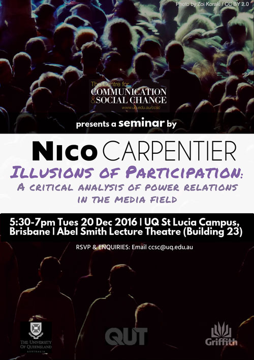 Nico Carpentier: Illusions of Participation